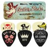 Rev Willy Mexican Lottery Tin & 6 Piece Guitar Picks