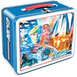 GI Joe Retro Style Metal Lunch Box