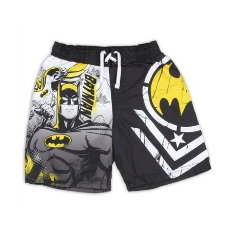 Batman Dark Knight Boys Swim Shorts Sizes 4-7 Licensed By DC Comics