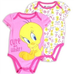 Looney Tunes Tweety Bird Cute Or What 2 Piece Creeper Set