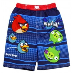Angry Birds Blue Boys Swim Shorts Houston Kids Fashion Clothing Store