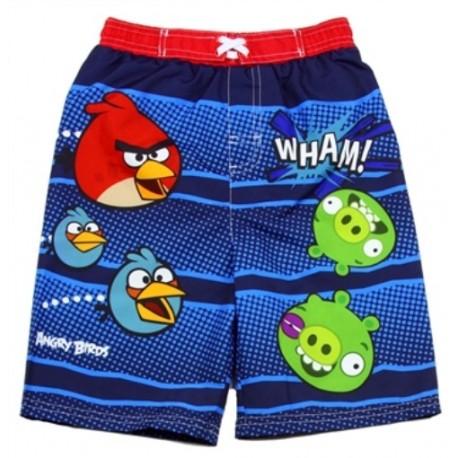 Angry Birds Blue Boys Swim Shorts Houston Kids Fashion Clothing Store