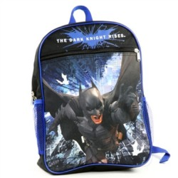 DC Comics Batman The Dark Knight Boys Backpack Houston Kids Fashion Clothing