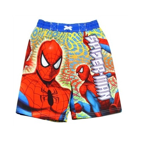 DC Comics Spider Man Toddler Swim Shorts Houston Kids Fashion Clothing Store