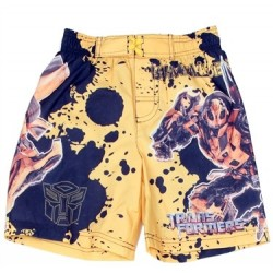 Transformers Bumblebee Yellow Boys Swim Shorts Sizes 5/6 & 7