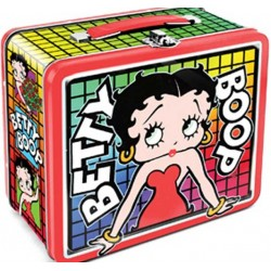 Betty Boop Retro Style Metal Lunch Box For Collecting or Taking To School