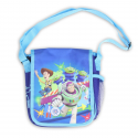 Toy Story Shoulder Tote With Woody, Buzz Lightyear and the Loveable Green Aliens From Disney Pixar