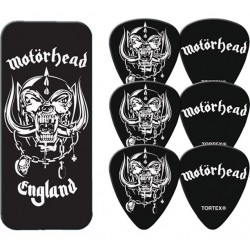 Dunlop Motorhead England Collectors Tin & 6 Piece Guitar Picks Houston Kids Fashion Clothing Store