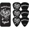Motorhead England Collectors Tin & 6 Piece Guitar Picks