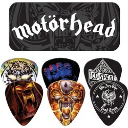 Dunlop Motorhead Collectors Tin & 6 Piece Guitar Picks Houston Kids Fashion Clothing Store