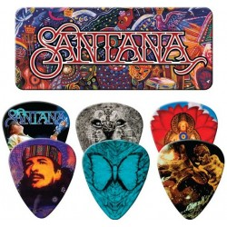 Santana Supernatural 6 Piece Guitar Picks