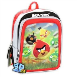 Angry Birds 3D Backpack With Adjustable Straps