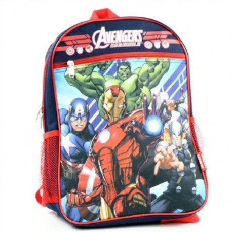 Marvel Avengers Assemble Zippered Backpack