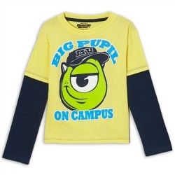 Disney Monsters University Mike A Big Pupil On Campus Shirt Houston Kids Fashion Clothing