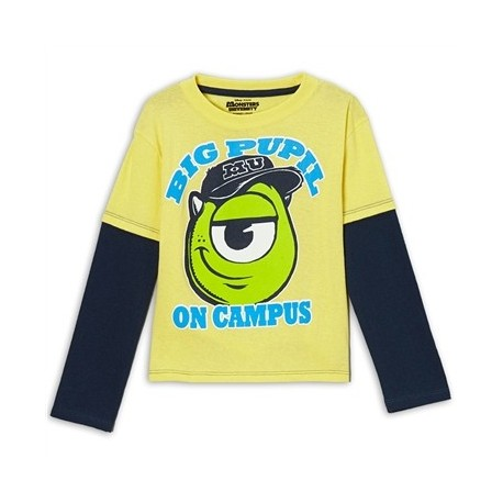 Monsters University Mike A Big Pupil On Campus Shirt