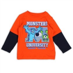 Disney Monsters University Scarers In Training Boys Shirt houston Kids Fashion Clothing Store