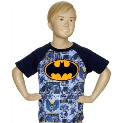 DC Comics Batman Bat Signal Blue All Over Print Toddler T Shirt