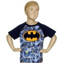 DC Comics Batman Bat Signal All Over Print Toddler Boys Shirt Houston Kids Fashion Clothing Store