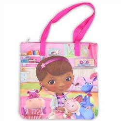 Doc McStuffins Purple Large Tote Bag Houston Kids Fashion Clothing Store
