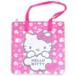 Pink Hello Kitty Large Shoulder Tote Houston Kids Fashion Clothing Store