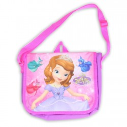 Disney Sofia the First Purple Small Messenger Bag