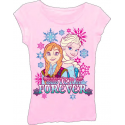 Disney Frozen Sisters Forever Girls T Shirt