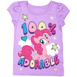 My Little Pony Toddler 100% Adorable Short Sleeve Shirt Houston Kids Fashion Clothing Store