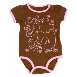 Dr Seuss Horton The Elephant Brown Onesie Houston Kids Fashion Clothing Store