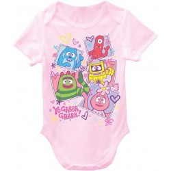 Yo Gabba Gabba Light Pink Infant Onesie