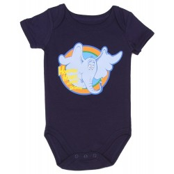 Dr Seuss The Cat In The Hat Horton Hears A Who Navy Blue Onesie