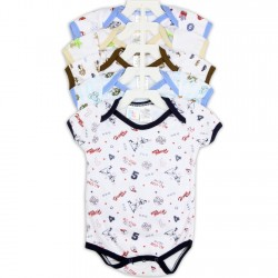 Coney Island 5 Piece Baby Boys Onesie Set Houston Kids Fashion Clothing Store