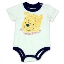 Disney Winnie The Pooh Cream Infant Onesie