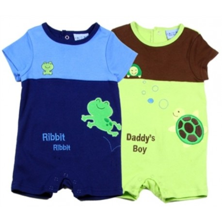 Carter's Daddy's Boy 2 Piece Romper Set