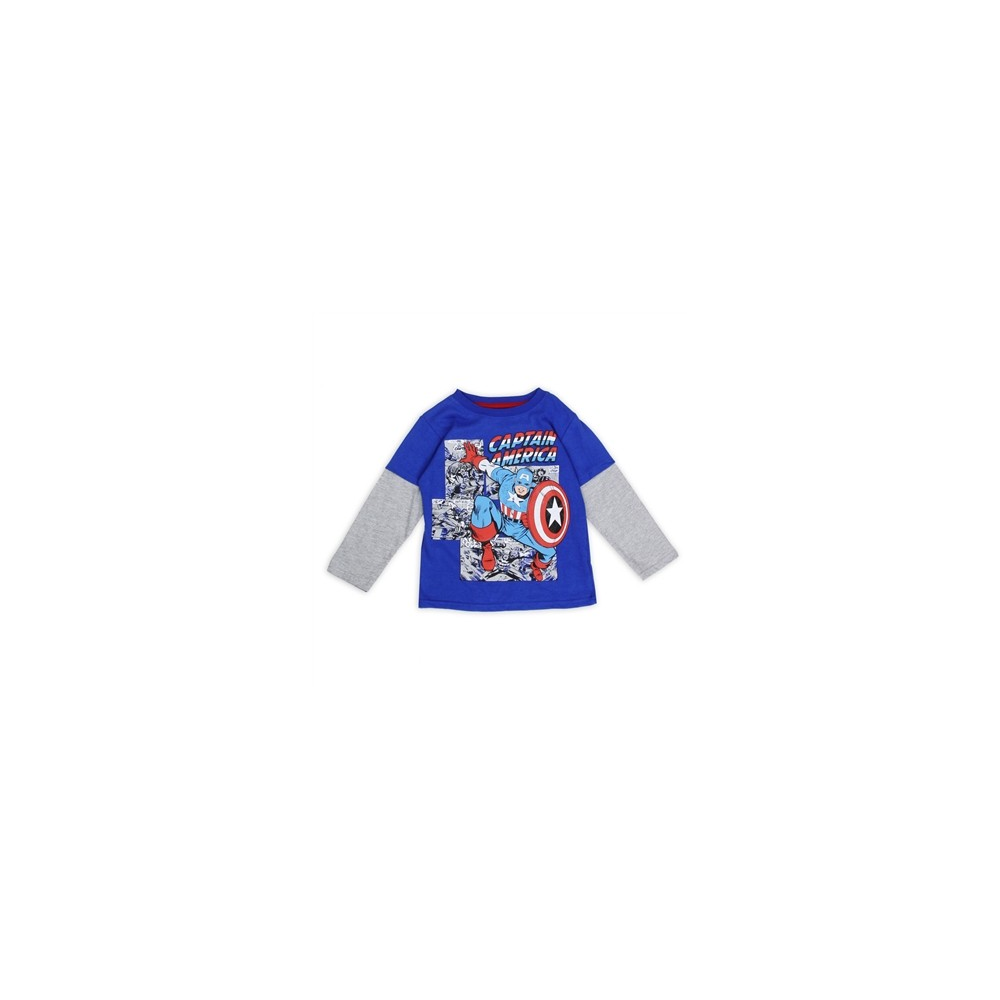 Marvel ics Captain America Toddler Long Sleeve Shirt