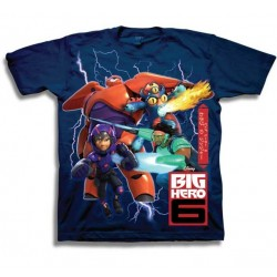 Disney Big Hero 6 Character Boys Shirt