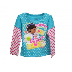 Disney Doc McStuffins Cuddle Expert Long Sleeve Shirt