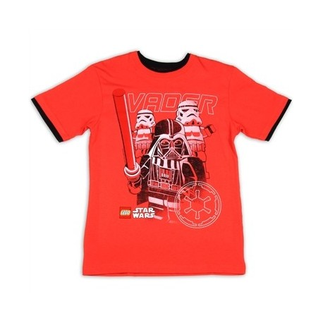 Lego Star Wars Darth Vader Boys Short Sleeve Graphic T Shirt