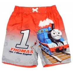 Thomas and Friends Red Toddler Swim Trunks