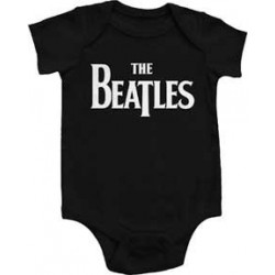 The Beatles Eternal Black Infant Onesie