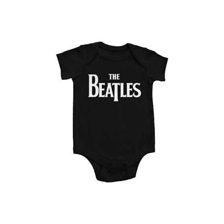 The Beatles Eternal Black Infant Onesie