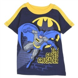 c27af8ad463 DC Comics Batman The Cape Crusader Toddler Boys Shirt Free Shipping Houston  Kids Fashion Clothing Store