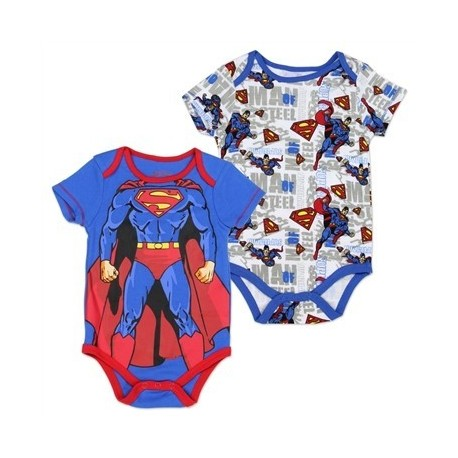 DC Comics Superman Onesie Two Piece Set
