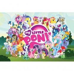My Little Pony Cast Wall Poster