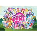 My Little Pony Wall Poster Featuring The Cast Of Ponyville