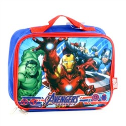 Marvel Comics Avengers Assemble Insulated Lunch Box With Captain America ,The Hulk,Ironman ,Thor