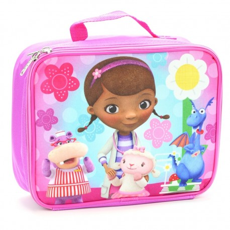 Disney Doc McStuffinsand Friends Insulated School Lunch Box Houston Kids Fashion Clothing