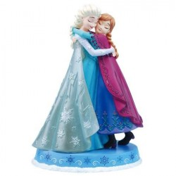 Disney Frozen Anna and Elsa Licensed Figurine