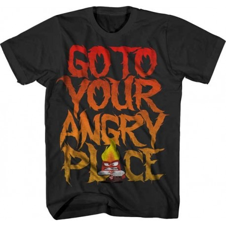 Disney Inside Out Go To Your Angry Place T Shirt Free