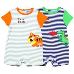 Carter's Dragon and Tiger 2 Piece Romper Set