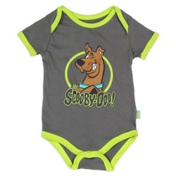 The Loveable Scooby Doo Grey Infant Onesie